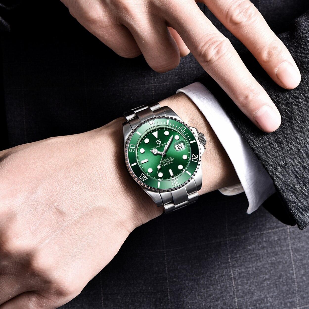 2020 relógios masculinos pagani design marca de