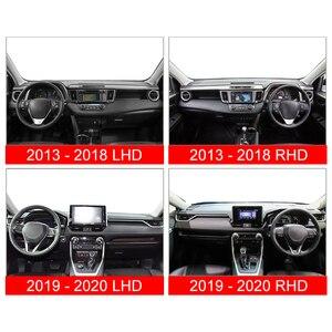 Image 3 - トヨタRAV4 2013 2016 2017 2018 2019 2020 lhd/rhd車のダッシュボードカバーマット回避ライトパッド抗uvカバーカーペットアクセサリー