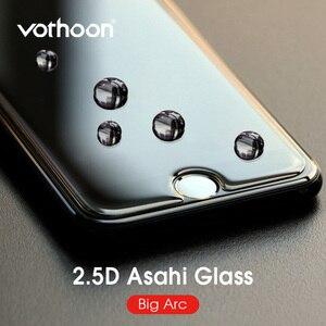 Vothoon 2.5D Закаленное стекло протектор экрана для iphone 6s 7 8 Plus большая дуга AGC стекло для iphone 11 pro xs max защитная пленка