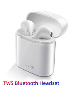 Bluetooth Earphone Charging-Box Mic-Sports Handsfree Huawei Xiaomi In-Ear I7s Tws Wireless Headsets