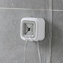 ABS Self Adhesive Wall Mount Storage Plastic Wash Cloth Clip Organizer Home Towel Holder Dry for Home Kitchen Bathroom