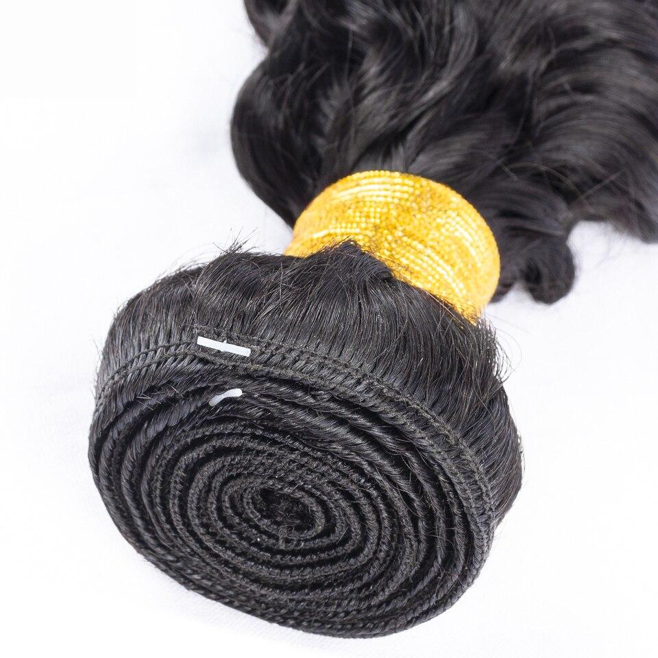 Image 5 - Fashow Brazilian Deep Wave Hair 1/3/4 Bundles Weave 30 32 34 36 Inch 100% Human Hair Natural Hair Thick Bundles Remy Hair WeavesHair Weaves   -