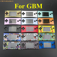 Mix 10pcs 15pcs 20pcs Front Faceplate Cover Replacement for Game Boy Micro for GBM Front Case Housing Repair Part