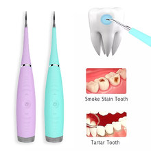 Stains-Tool Dental Scaler Ultrasonic Oral-Hygiene Electric-Tartar-Remover Calculus Tooth