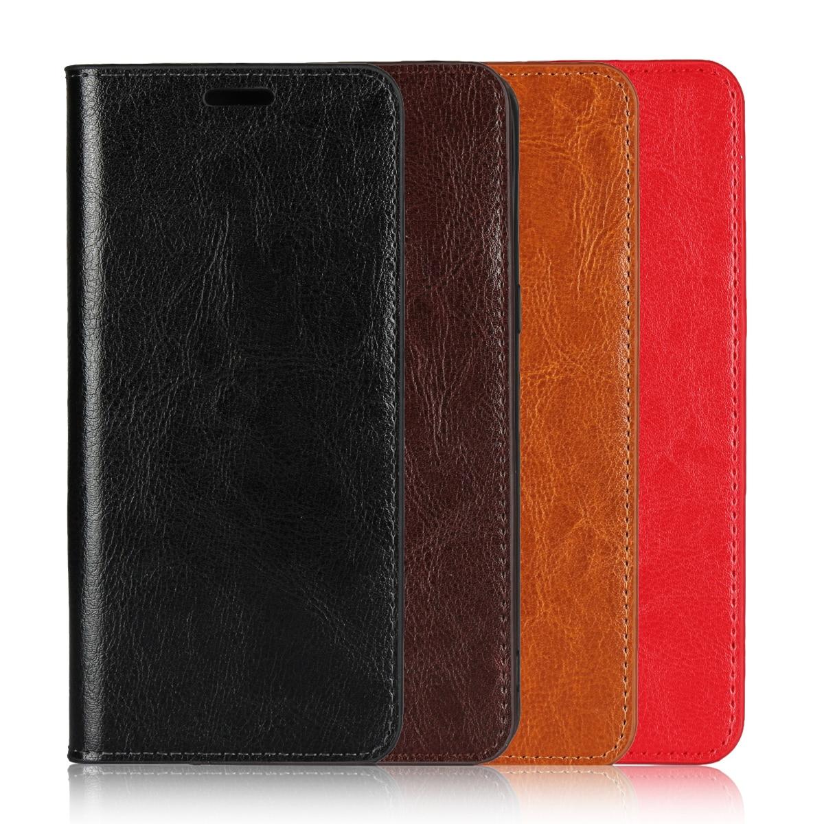 For Motorola Moto Edge Plus Case 6.7 Inch Premium Natural Genuine Flip Leather Skin Wallet Book Cover For Moto Edge+ Phone Case