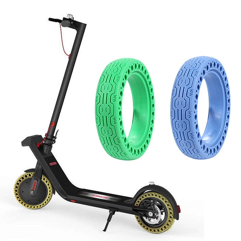 <font><b>Electric</b></font> <font><b>Scooter</b></font> Honeycomb Solid Tires Shock Absorber Hollow Tire Wheel Tire for <font><b>Xiaomi</b></font> <font><b>Mijia</b></font> <font><b>M365</b></font> / <font><b>Pro</b></font> <font><b>Scooter</b></font> Accessories image