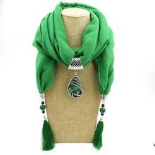 купить Cotton and hemp minority style peacock pendant gem tassel scarf shawl women neck fast selling popular style pendant scarf дешево