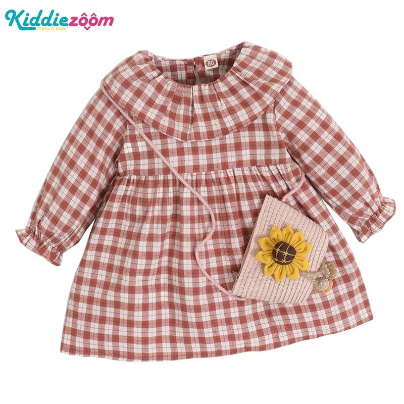 Зимнее пальто для маленьких девочек, новорожденных с короткими рукавами, праздничное платье принцессы для девочек с цветочным принтом; Костюм в клетку Детские вечерние платья|Платья| | АлиЭкспресс