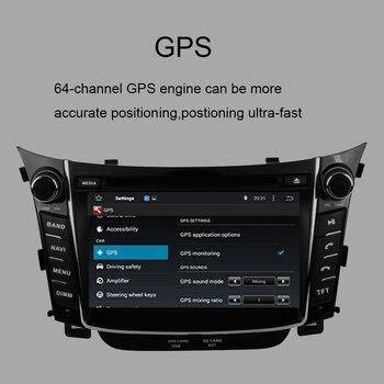 кассетный магнитофон | Android 9,0 автомобильный Dvd-плеер Gps навигация головное устройство для Hyundai I30 2012-2016 мультимедийная лента рекордер автомобильный стерео экран ра...