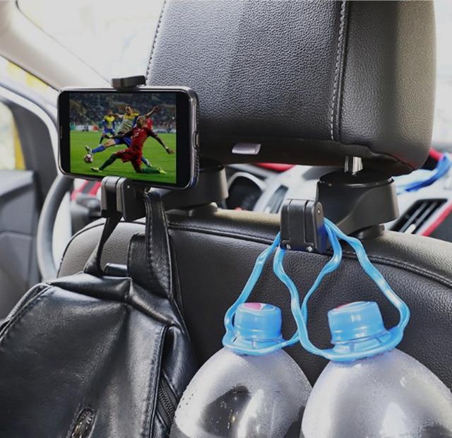 2019 NEW Car Headrest Hook Phone Holder for Lexus RX300 RX330 RX350 IS250 LX570 is200 is300 ls400 CT DS LX LS IS ES RX GS GX-Ser 5