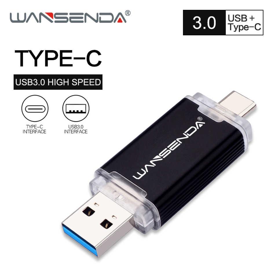 Wansenda 2 Em 1 Unidade Flash Usb Otg Usb3 0 Micro Usb Pen Drive 512gb 256gb 128gb 64gb 32gb Pendrive Usb Stick Para Android Pc Pen Drive Usb Aliexpress