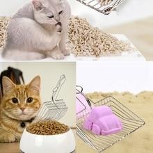 1pcs Cat litter Scoopers Cat Litter Sand Shovel Stainless Steel Metal