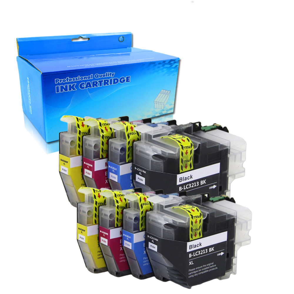 10PK Compatible for Brother LC3213 ink Cartridge suit for Brother MFC J890DW MFC J895DW DCP J772DW DCP J774DW etc.|Ink Cartridges| |  - title=