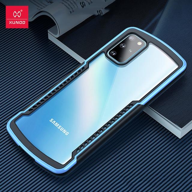 Per Samsung Note 20 custodia protettiva antiurto Ultra XUNDD custodia protettiva paraurti Airbag custodia trasparente per Samsung Note 20
