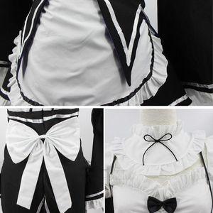 Image 3 - Ram/Rem Cosplay Re:zero Kara Hajimeru Isekai Seikatsu Re Life In a Different World Kawaii Costume Halloween Maid Servant Dress