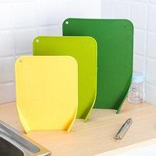 Schneiden Boards für Küche Kunststoff Set von 3 Umweltfreundliche Schneiden Bord für Hacken Fleisch Gemüse Obst Käse