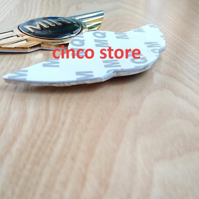 3D бейдж металлический для автомобилей эмблема логотип наклейки для Mini Cooper Кабриолет работает с передней крышки головки задняя фара коробка...