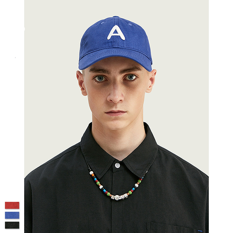 Cooo Coll 19FW Men Women Hip Hop baseball Cap Letter A  Patch Baseball Caps Leather Harajuku Sun Hat Snapback Hats
