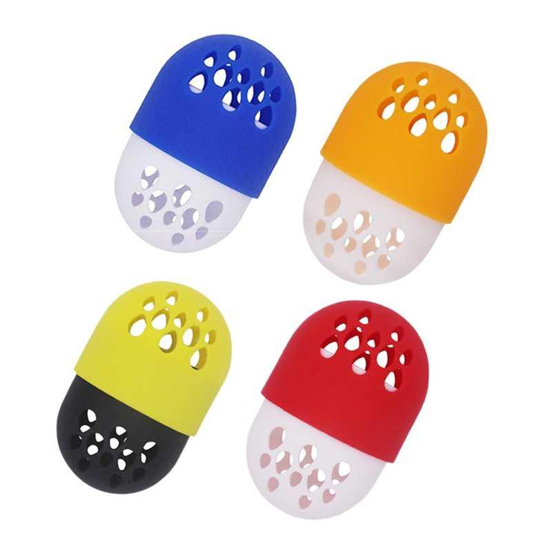 Спонж для красоты дорожный кейс набор-спонж для нанесения основы держатель, Макияж Блендер Дорожный Чехол подходит для всех видов яичные Конвертики