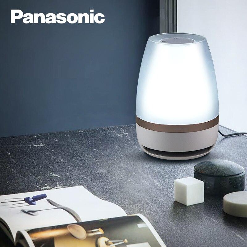 Panasonic Luce di Notte del Sensore di Tocco di Bluetooth Speaker Luce di Controllo A Distanza Senza Fili HA CONDOTTO LA Luce Intelligente di Musica Lampada Da Tavolo - 4
