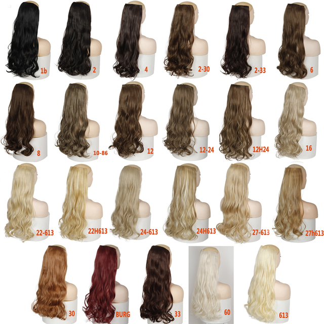 MERISI HAIR-extensiones de pelo largo sintético para mujer, 5 pinzas, Clip liso, pelo falso, color negro
