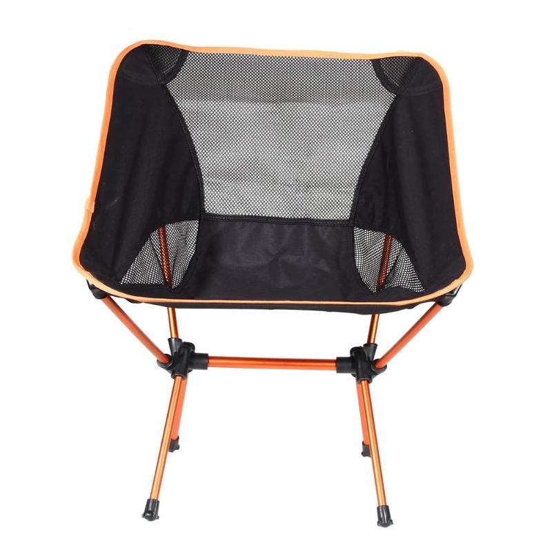 Lightweight Portable Chair Folding Stool Fishing Camping Hiking Beach Bag Casual Garden Chairs