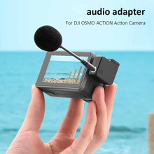 USB Type C Male to Female Classic Colors 3.5mm Simple Enduring Microphone Audio Adapters for DJI OSMO ACTION