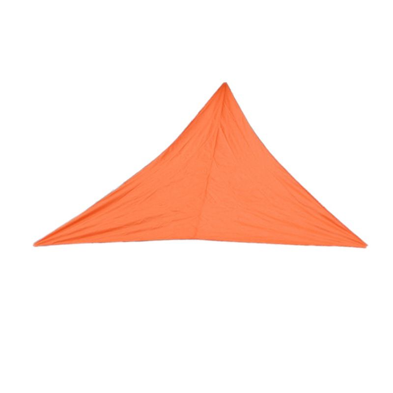 Водонепроницаемый солнцезащитный навес Защита от Солнца Открытый навес сад патио бассейн навес парус тент Кемпинг Пикник палатка верхняя крышка капля - Цвет: 4X4X4M