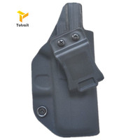 IWB KYDEX Holster Custom Fits: Glock 43 Glock 43X Gun Holster Inside Concealed Carry Pistol Case Guns Bag Accessories