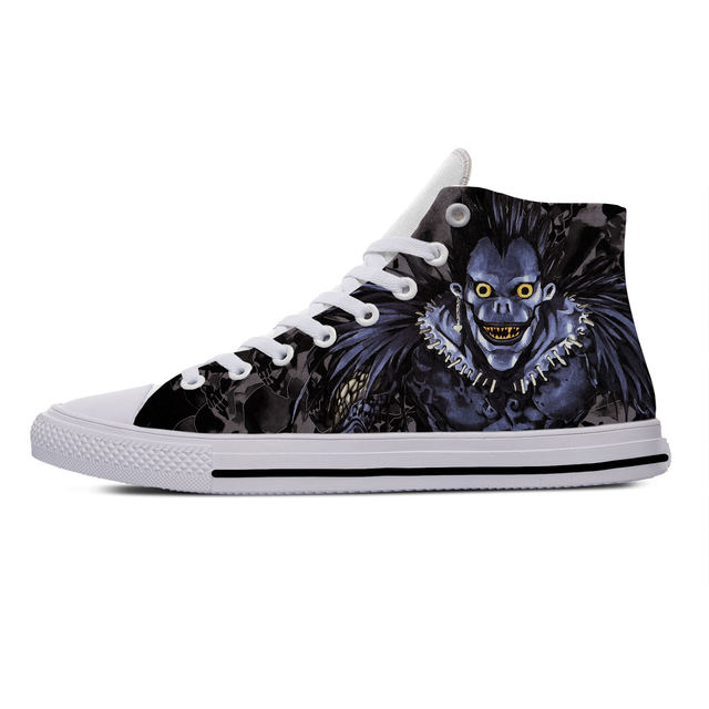 DEATH NOTE THEMED HIGH TOP SHOES (13 VARIAN)