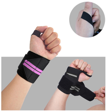 1Pc Weight Lifting Strap Fitness Gym Sport Wrist Wrap Bandage Hand Support Wristband