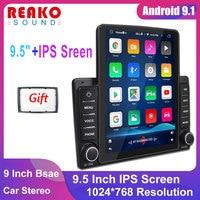 REAKOSOUND 2 Din Android Autoradio schermo verticale Audio Stereo Bluetooth Autoradio telefono cellulare Multimedia Car Video Player