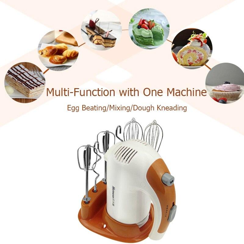 Handheld Electric Egg Beater 6 Sticks Egg Beater Whisk 5 Speed Mixer Blender Machine Making Cream Baking Kitchen Cooking Tools