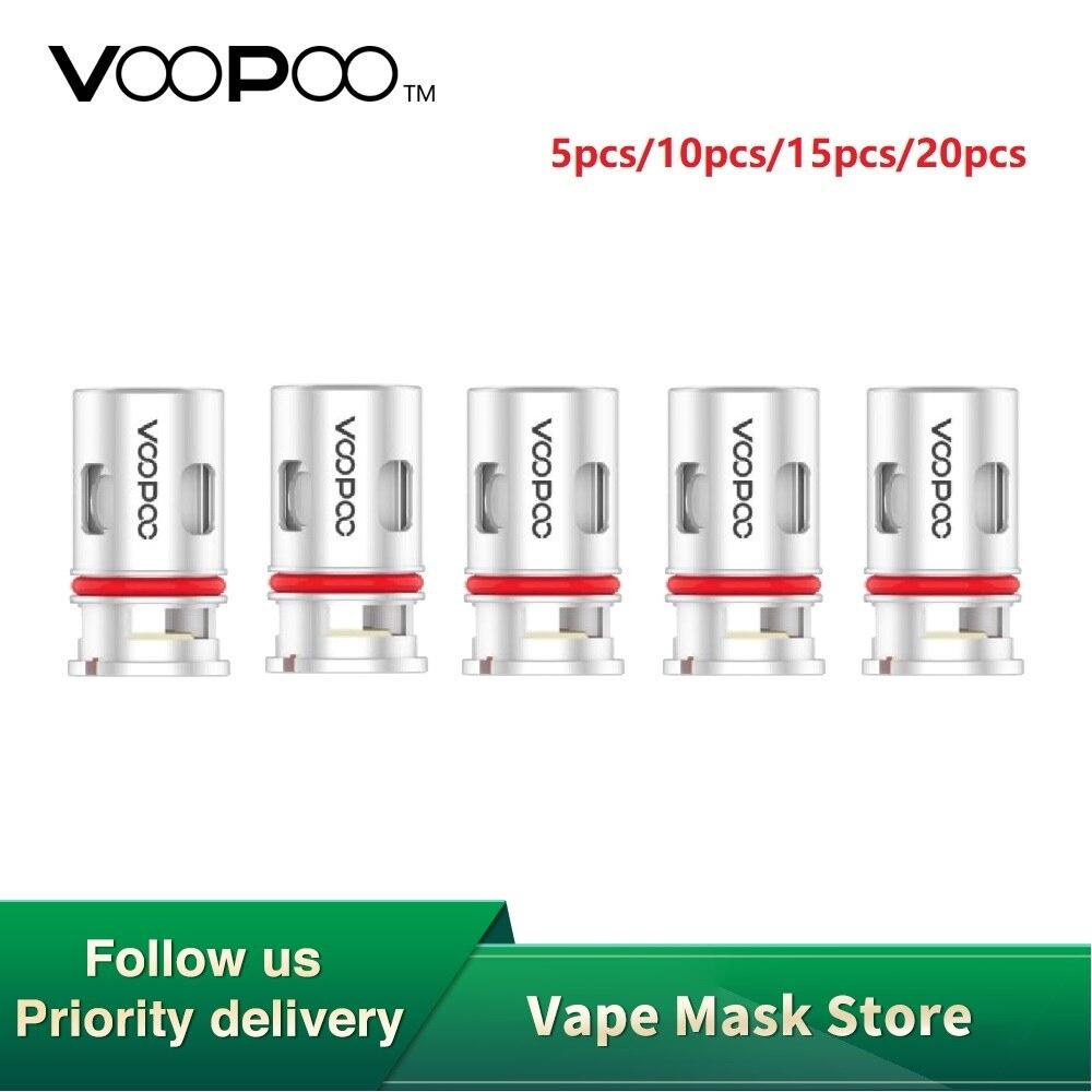 Original 5pcs 20pcs VOOPOO PnP-VM1 Mesh Coil For VOOPOO VINCI R / VINCI Mod Pod Kit 0.3ohm PnP-VM1 Mesh Coil E-cig Vape Coil