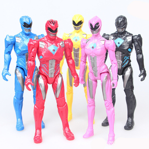Set Power Ranger Beast Morphers Toys Mega Zord Dino Charger Dinosaur Team PVC Action Figures Collections