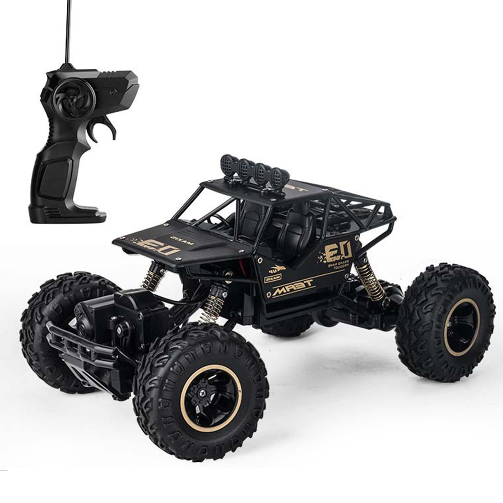 28cm 27GHz Non Slip Four Wheel Vehicles Funny RC Car Kids Climbing Monster Truck Toy Buggy Off Road Shock Resistant Crawler Gift