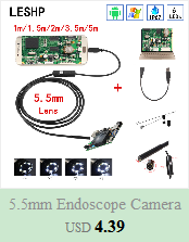 Hfcdb3b814d1d4a3ea8adbb4cd1101e79W 5.5mm Endoscope Camera 1/1.5/2/3.5/5M  2 in 1 Micro USB Mini Camcorders Waterproof 6 LED Borescope Inspection Camera For Android