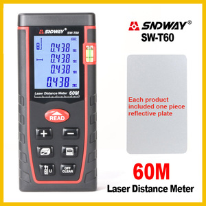 Image 3 - SNDWAY Rangefinder Laser Distance Meter Range Hand Tool Device Finder Electronic  SW T4S/T40/T60/T80/T100
