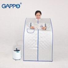 GAPPO buhar Sauna taşınabilir sauna odası yararlı cilt buhar sauna kilo kaybı kalori banyo SPA sauna çantası