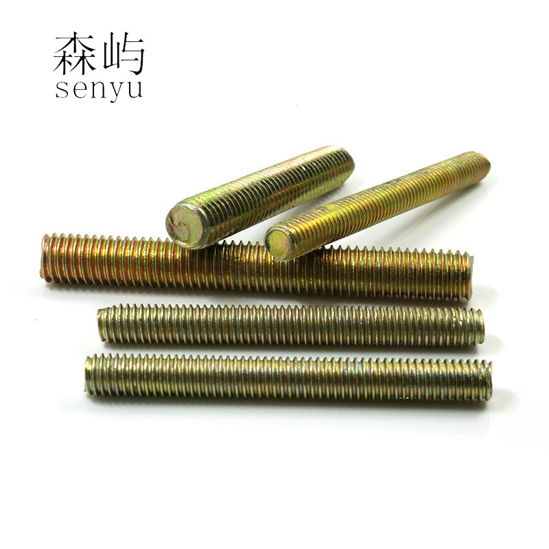 LUCHANG Free Shipping M6 Long Galvanized Metric Bolt Full Thread Shaft Rod Bar Stud threaded bolt