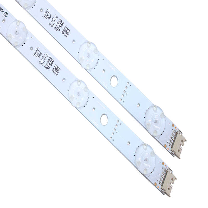 LED backlight strip 8 lamp voor LG 49 inch TV LC490EQE ssc_slimdrt_49sk85 (36B) SSC_49SK85 (36B) LC490EQE (XG) (F1)