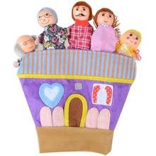 Винтажные пальчиковые куклы высокого качества персональная простота история реквизит для ребенка подарок на день рождения образовательная игрушка-игра реквизит