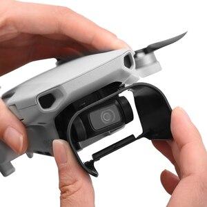 Image 4 - Lens Hood parlama önleyici Gimbal kamera Guard Lens kapağı güneşlik koruyucu kapak için DJI Mavic Mini/Mini 2 Drone aksesuarları
