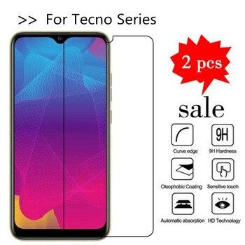 Перейти на Алиэкспресс и купить Закаленное стекло для Tecno Camon 11S 12 Pro i Sky 3 i4 iAce 2 X POP 2S pro 2F Phantom 9 Pouvoir 3 Защитная пленка для экрана