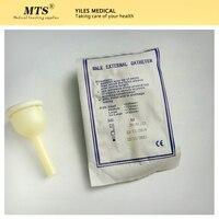 10pcs 남성 외부 카테터 단일 사용 일회용 소변 수집기 라텍스 소변 가방 선택 소변 기 가방 20mm/25mm/30mm/35mm CE FDA