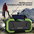 BT FM/AM радио портативный IPX6 Водонепроницаемый ручной Солнечный многофункциональный аварийный Bluetooth динамик Поддержка SOS