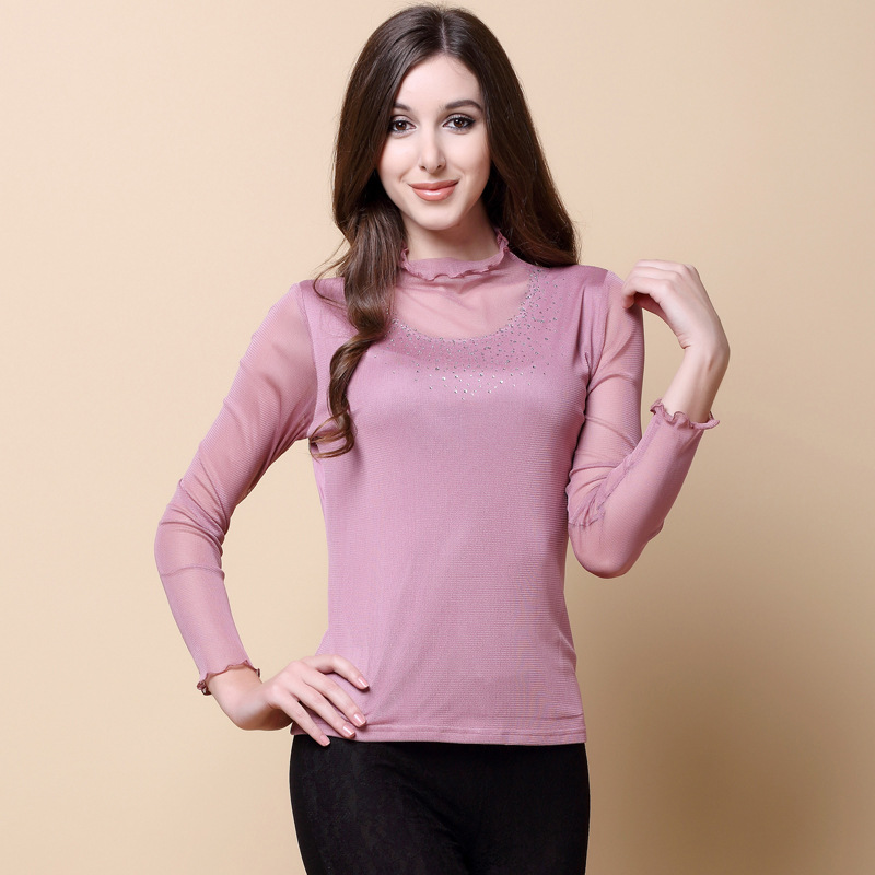 Fashion Kerah T-shirt 100%