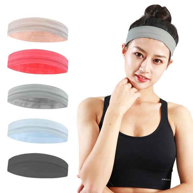 Sports running headscarf headband sweat absorption belt forehead antiperspirant belt harness hair belt fitness hair guide sweat