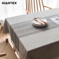 Toalha de mesa decorativa de linho de renda toalha de mesa retangular toalhas de mesa de jantar capa de mesa obrus tafelkleed mantel mesa nappe u1755