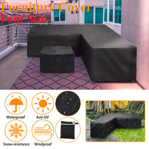 Furniture Corner-Sofa-Cover Rattan Patio Garden Outdoor Waterproof All-Purpose-Protective-Cover